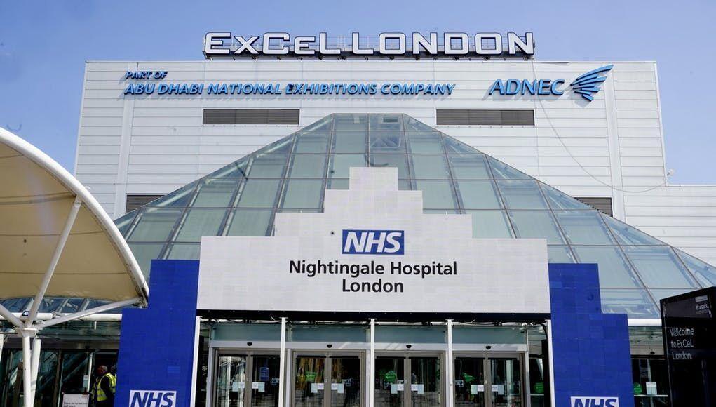 خبرنگاران گشایش بزرگترین بیمارستان صحرایی تخصصی کرونا در لندن